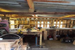 Pallet Framed Workshop - Rowan Jones - Garden