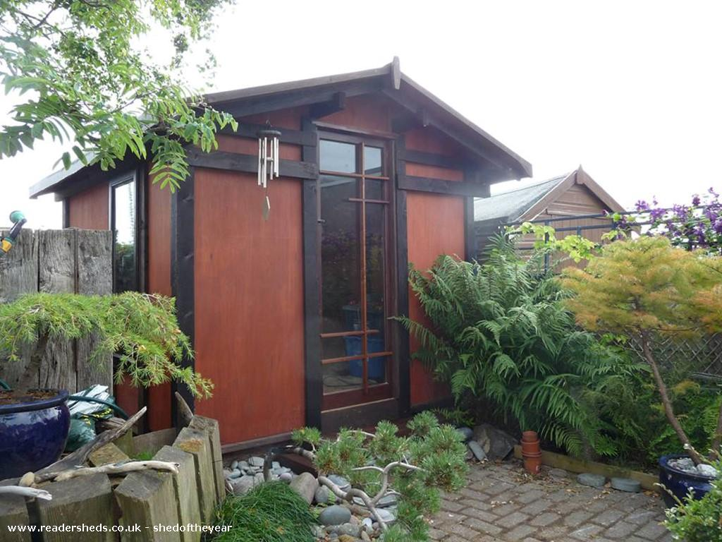 japanese tea shed