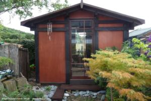 japanese tea shed - Tony Vowell - Back garden
