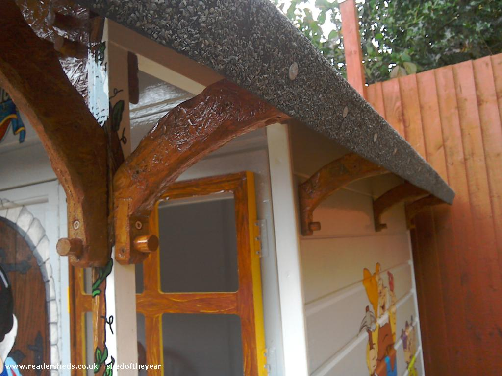 Photo of The seven dwarfs cottage, entry to Shed of the year
