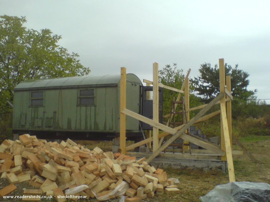 Photo of big dreams, entry to Shed of the year