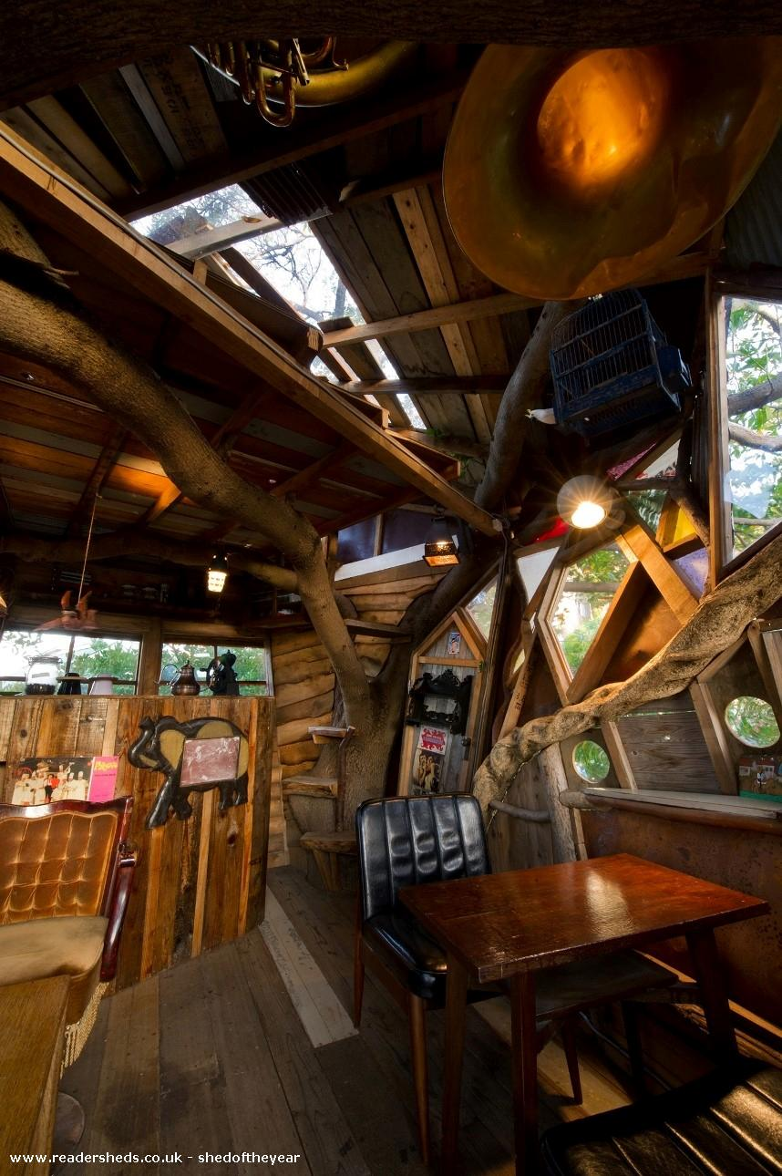 Photo of nanja monja cafe, entry to Shed of the year
