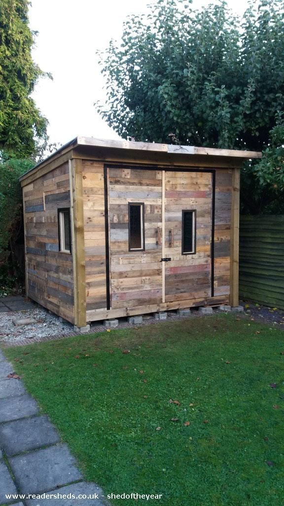 Pallet Palace Cabin Summerhouse Lincolnshire Owned By Vanessa Norton Shedoftheyear