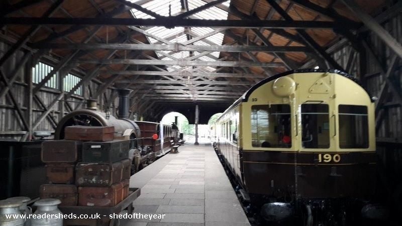 Didcot Railway Centre Transfer Shed