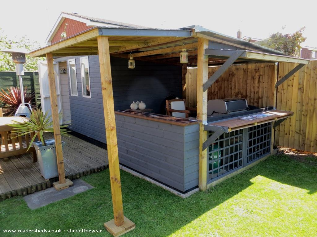 The BBQ shed