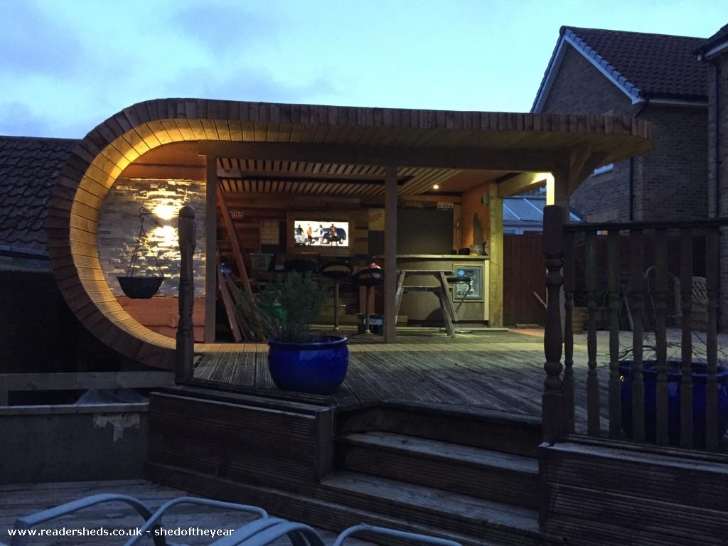 Photo of Noahs, entry to Shed of the year-Front night