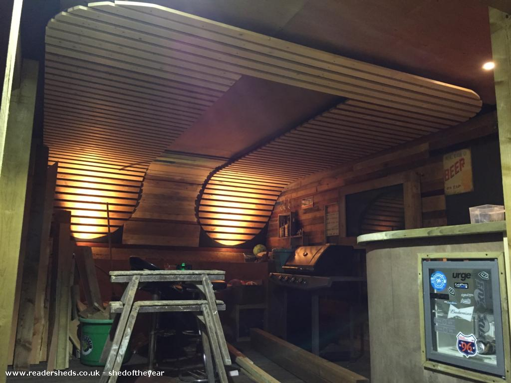 Photo of Noahs, entry to Shed of the year-Ceiling