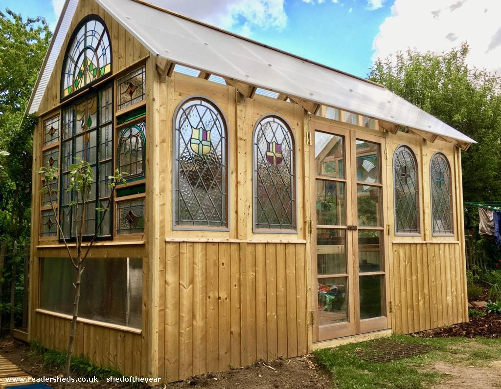 Photo of Great Glass Propagator , entry to Shed of the year-Front View