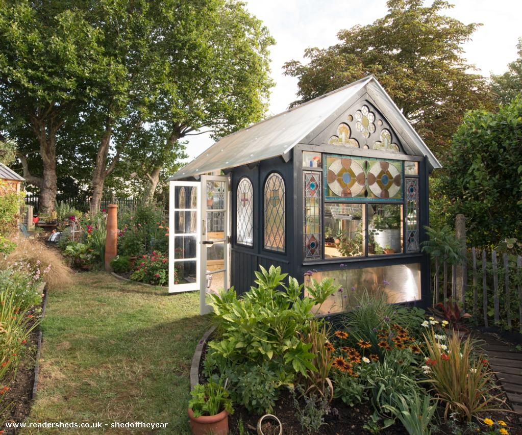 Photo of Great Glass Propagator , entry to Shed of the year-View from the house