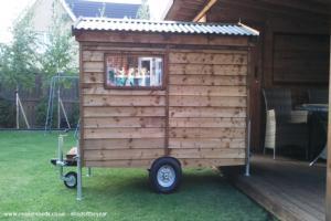 Baby caravan shed - Mr Stuart Scott - Garden