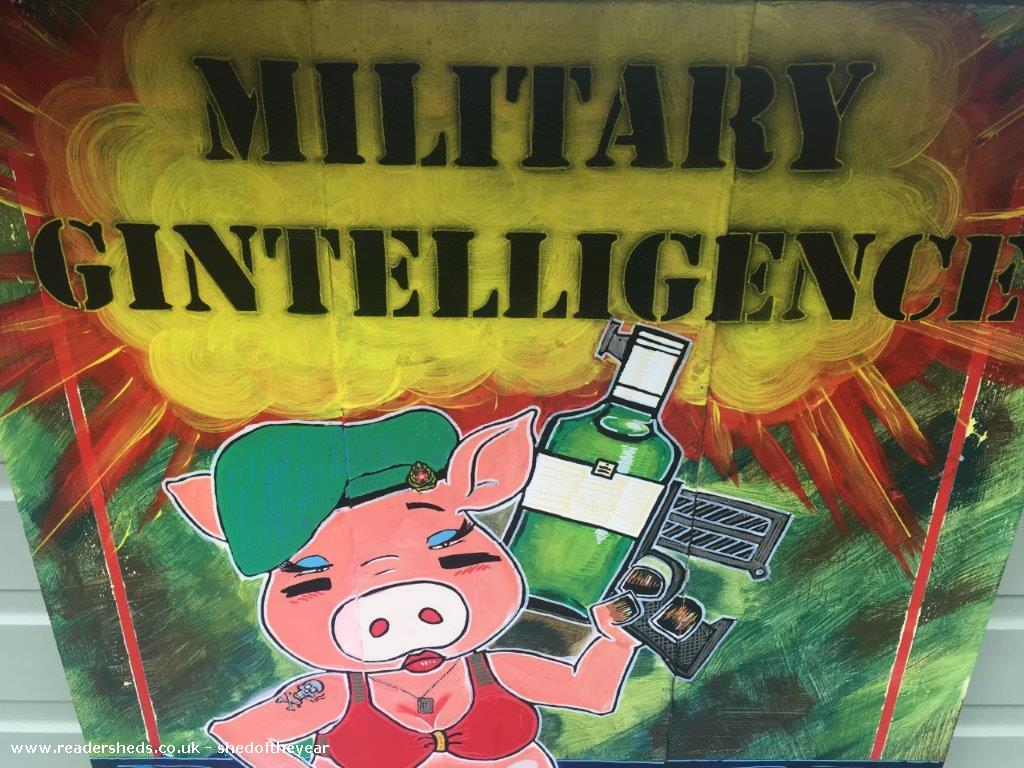 Military Gintelligence @ SeaChelle's