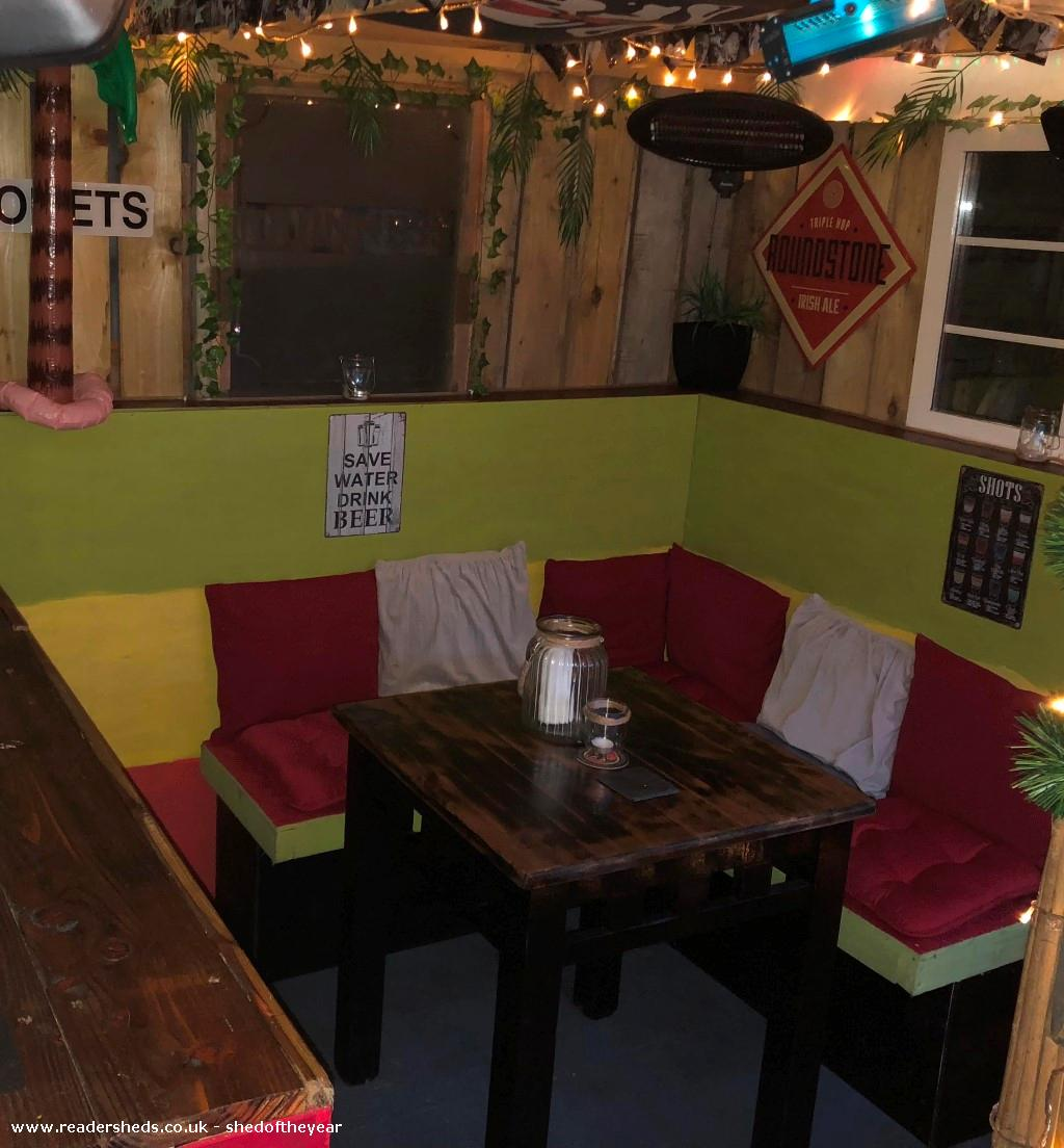 Photo of Tyler's Tiki Hut, entry to Shed of the year
