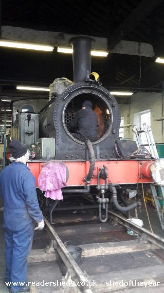Darlington Locomotive Works Historic From Hometown Lane