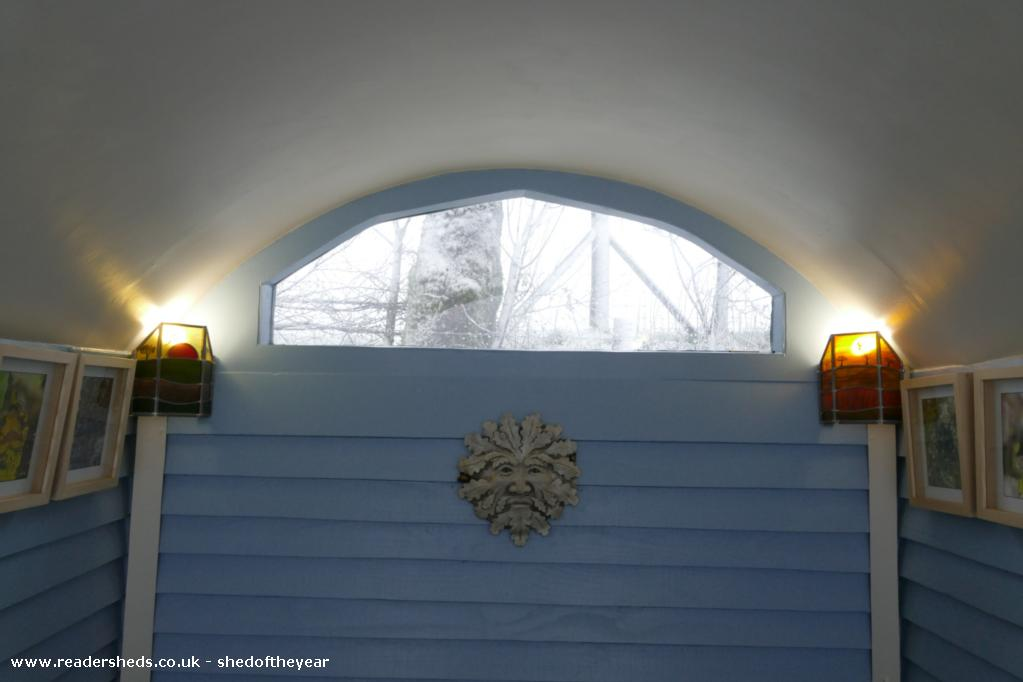 Photo of The Hut, entry to Shed of the year-Summer and autumn light shades