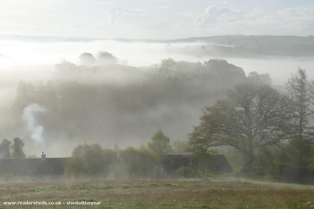 Photo of The Hut, entry to Shed of the year-May Mists