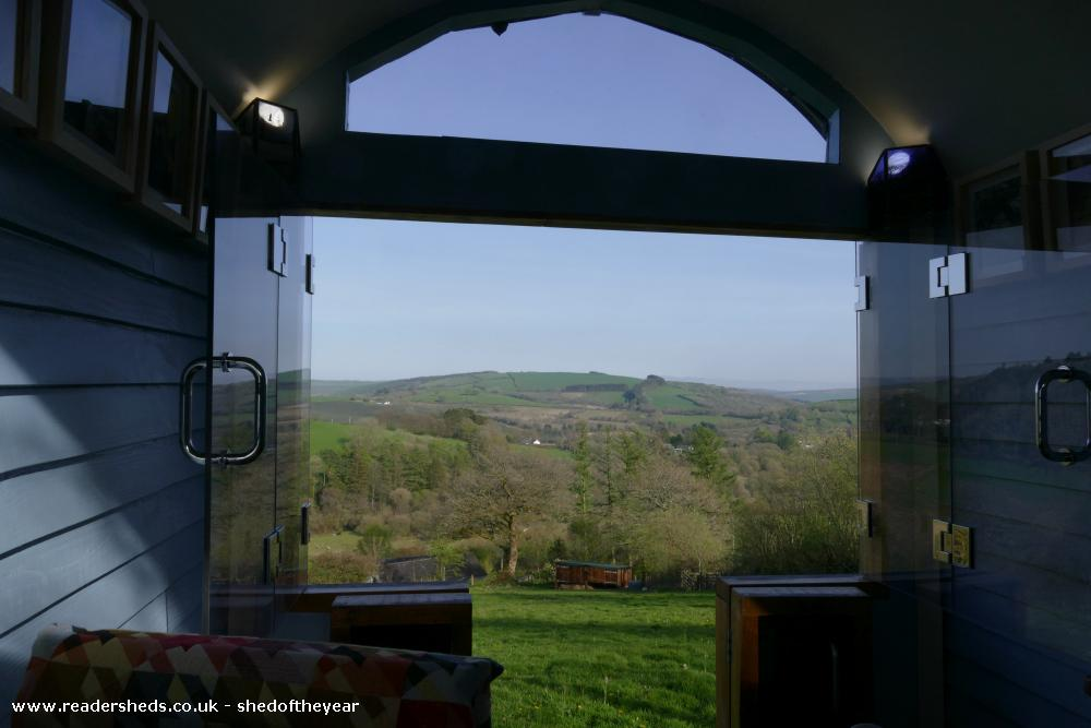 Photo of The Hut, entry to Shed of the year-Easter sunshine
