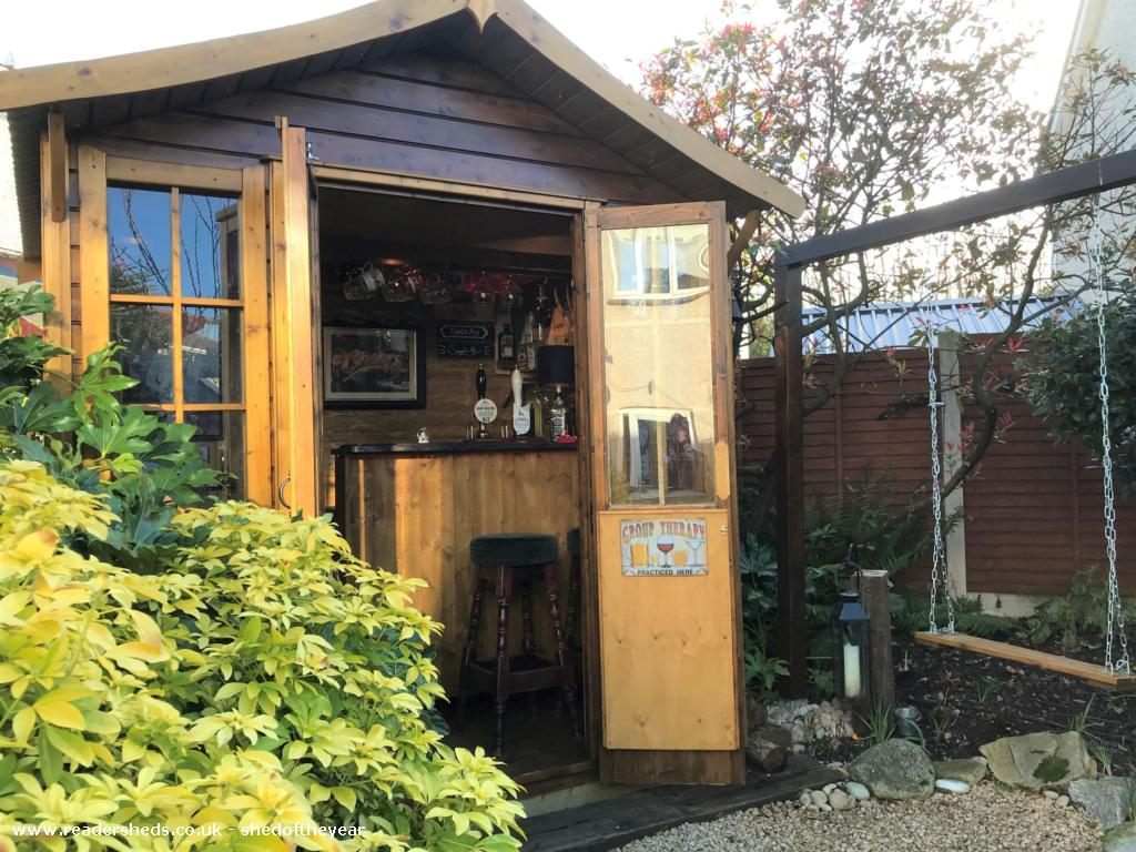 Photo of No. 88.5, entry to Shed of the year-Front view of shed in the garden