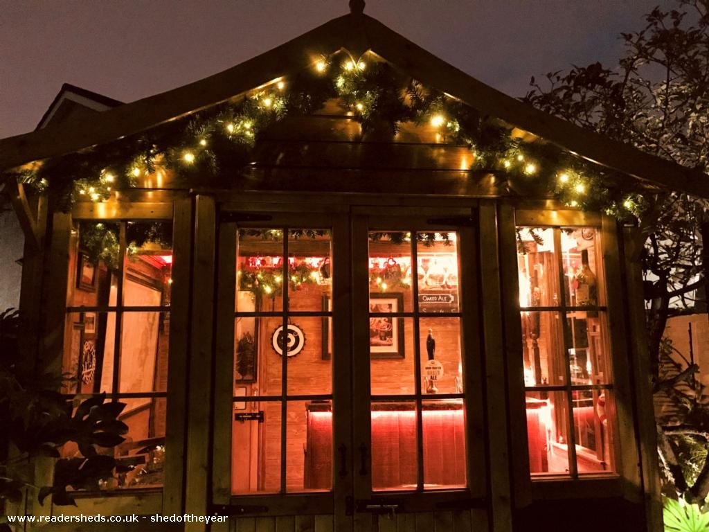 Photo of No. 88.5, entry to Shed of the year-Front at Christmas
