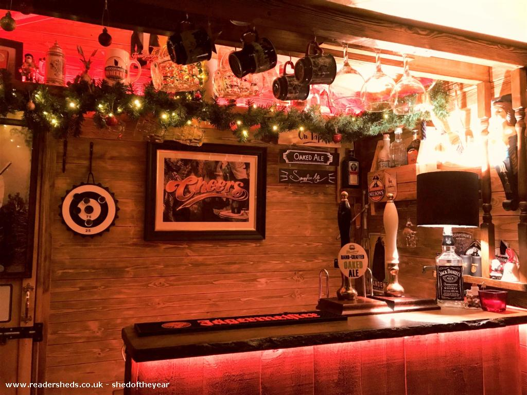 Photo of No. 88.5, entry to Shed of the year-Inside dressed for Chrismas