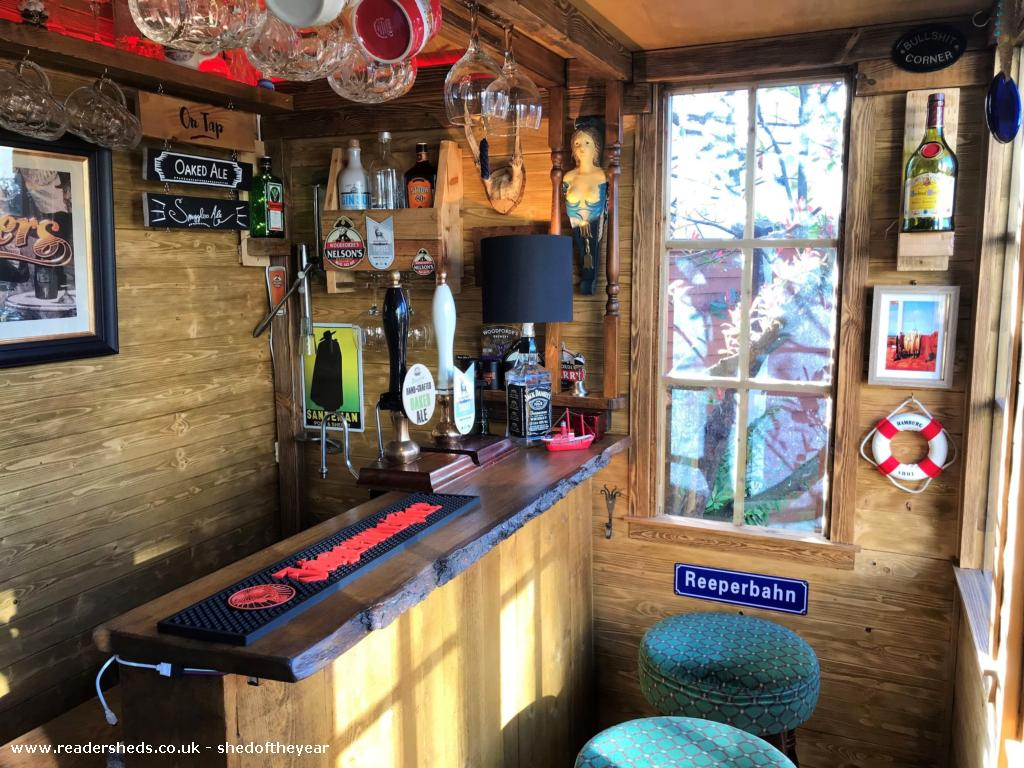 Photo of No. 88.5, entry to Shed of the year-Inside view