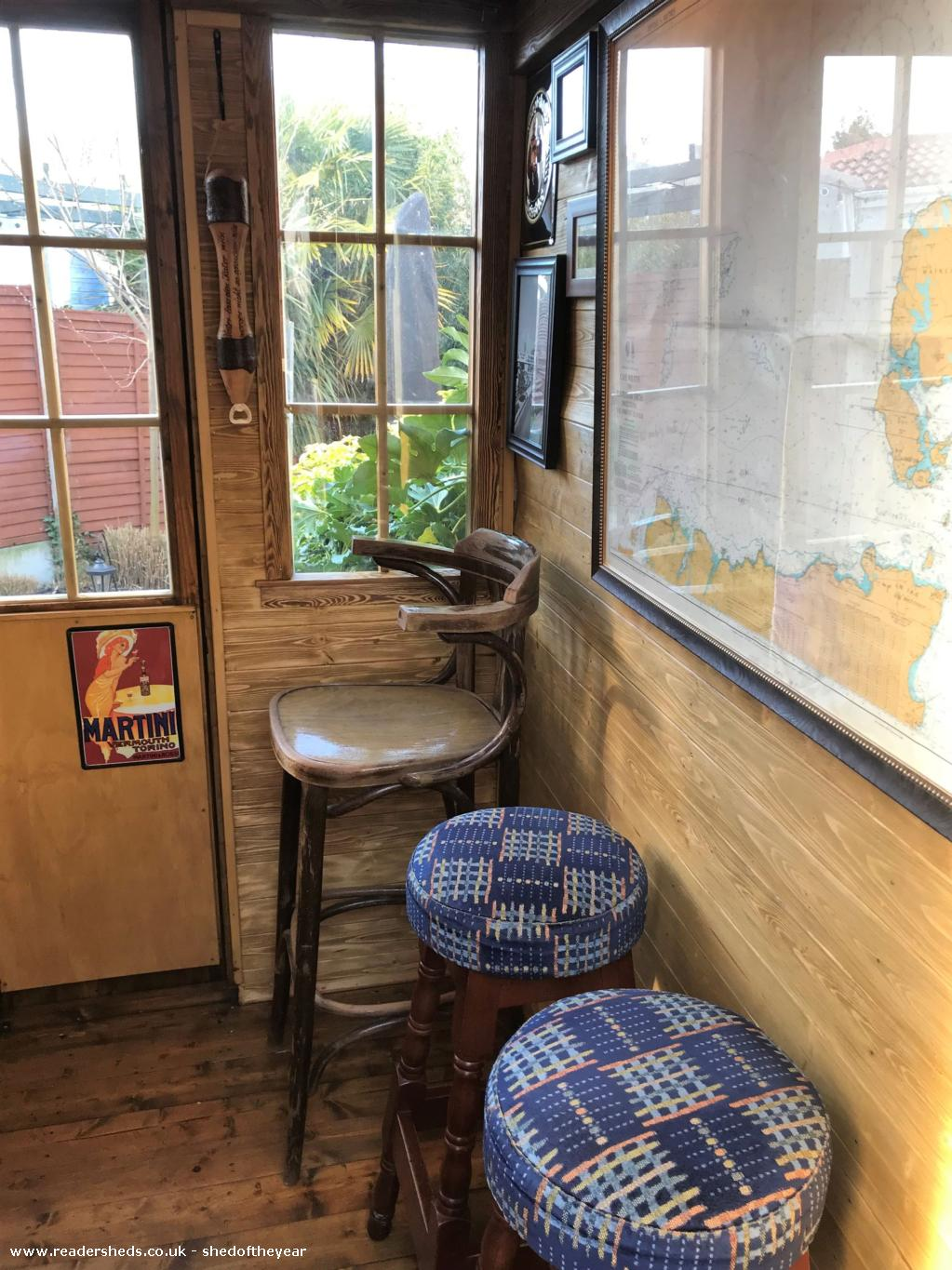Photo of No. 88.5, entry to Shed of the year-Inside Seating