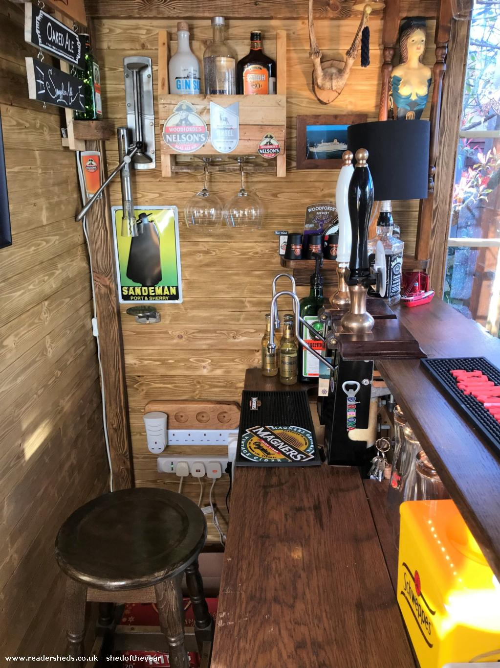 Photo of No. 88.5, entry to Shed of the year-Behind the bar