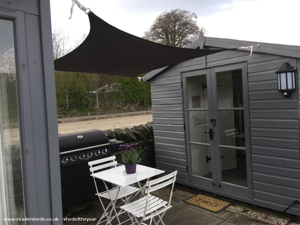 Photo of Pont Melin Shed, entry to Shed of the year-Bunkhouse