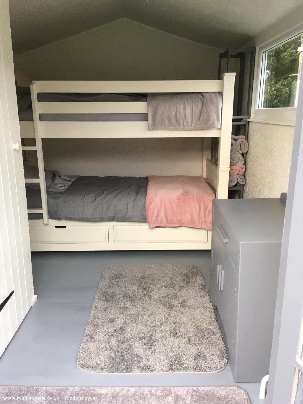 Photo of Pont Melin Shed, entry to Shed of the year-Bunkbeds