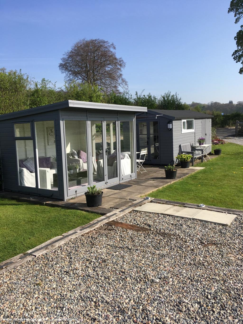 Photo of Pont Melin Shed, entry to Shed of the year-Summerhouse &bunkbeds