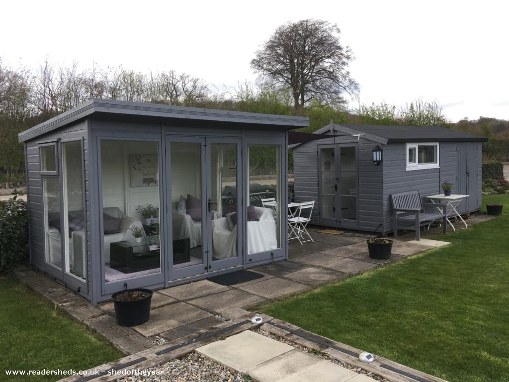 Photo of Pont Melin Shed, entry to Shed of the year-Summerhouse& bunkhouse