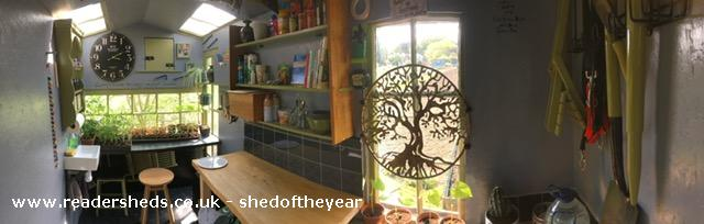 Photo of Dignity, entry to Shed of the year-inside panoramic