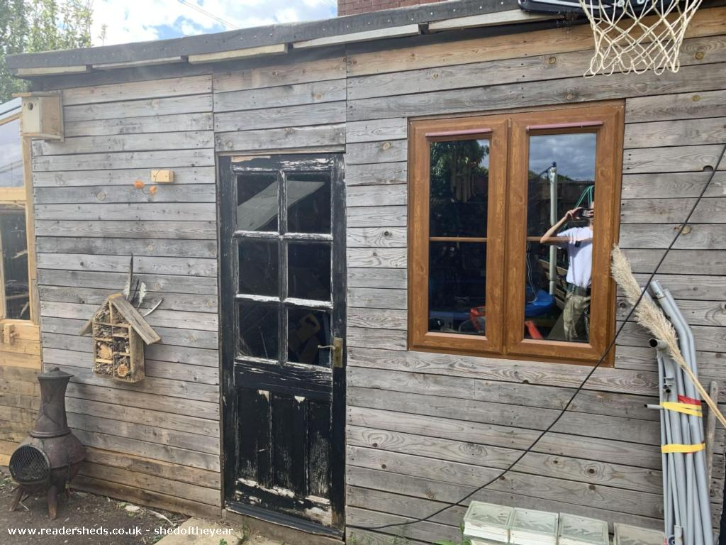 Photo of Chris cage, entry to Shed of the year