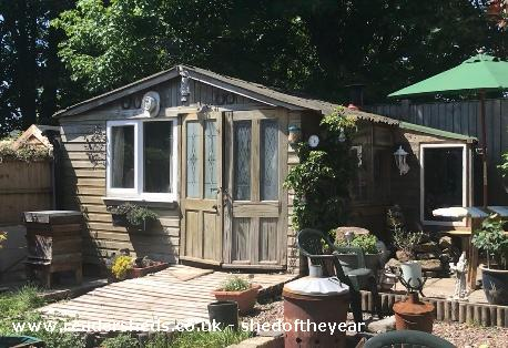 Photo of Shedfest , entry to Shed of the year-Outside Shedfest