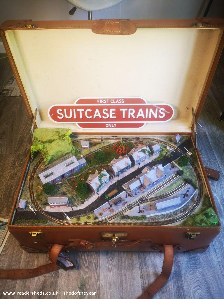 Photo of Suitcase trains HQ, entry to Shed of the year