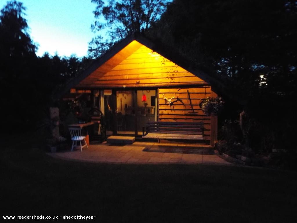 Photo of The Cosy Cabin , entry to Shed of the year
