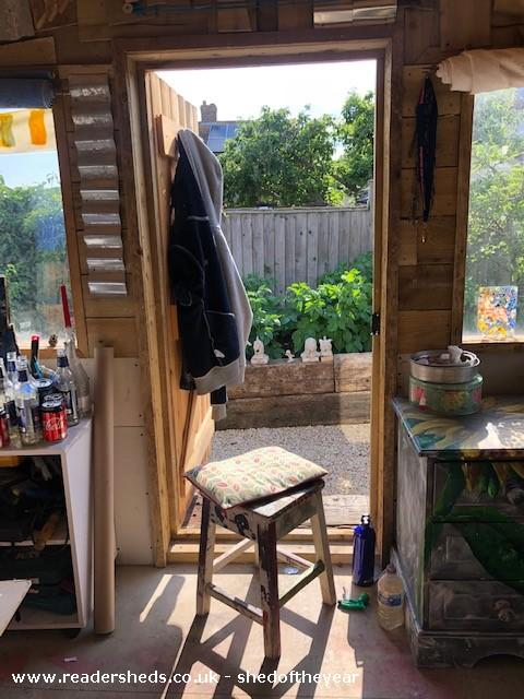 Photo of Wills's shed, entry to Shed of the year