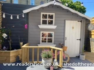 Photo of Socially Distanced Playhouse , entry to Shed of the year-Front view