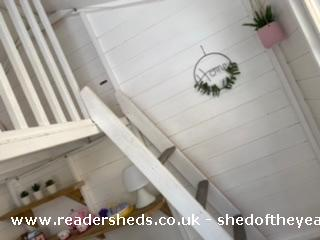 Photo of Socially Distanced Playhouse , entry to Shed of the year-Upstairs