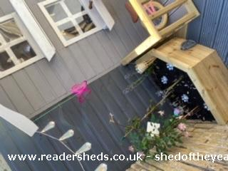 Photo of Socially Distanced Playhouse , entry to Shed of the year-Fairy garden