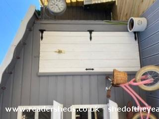 Photo of Socially Distanced Playhouse , entry to Shed of the year