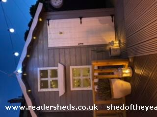 Photo of Socially Distanced Playhouse , entry to Shed of the year-Lights