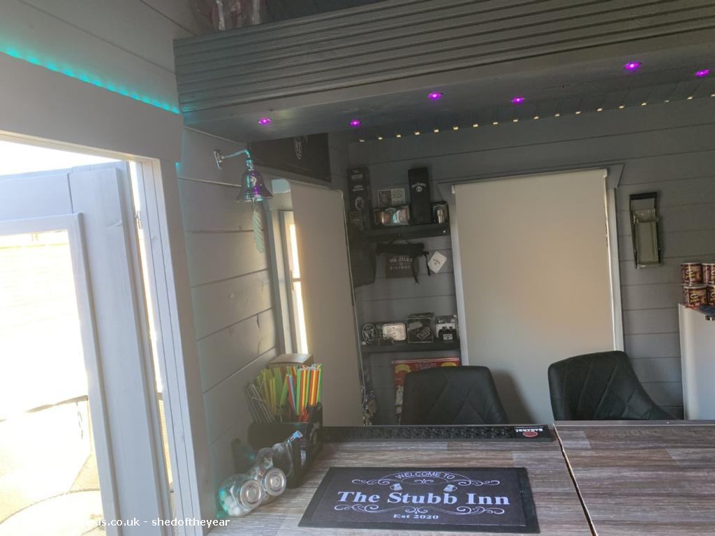 Photo of The Stubb Inn, entry to Shed of the year-INSIDE