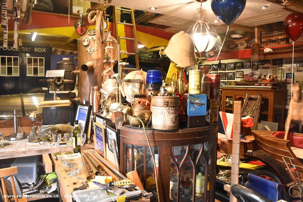 Chitty Inventor's workshop