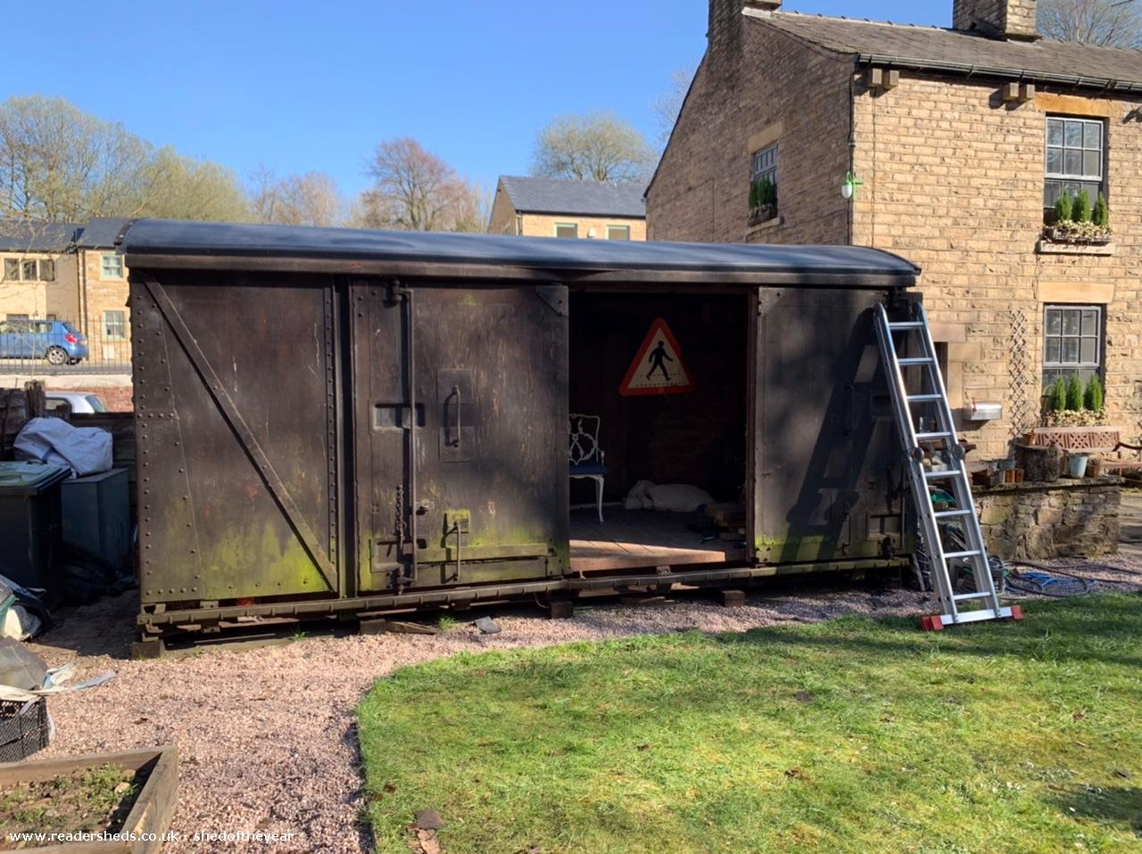 Coopersmith Salvaged 1962 Rail Van