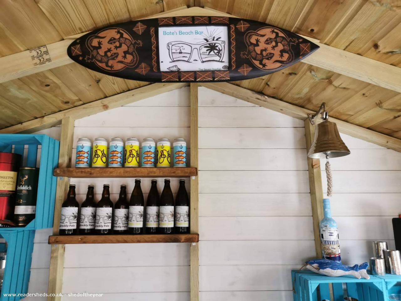 Bate's beach bar