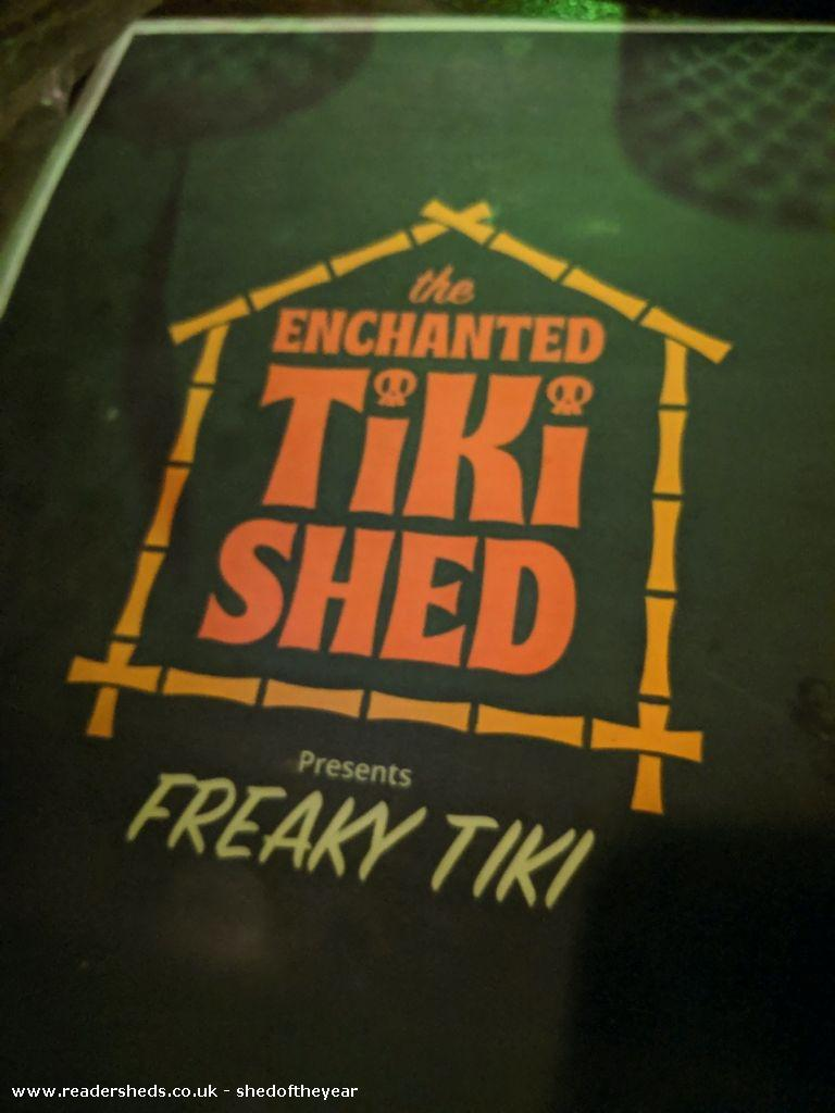 Enchanted Tiki Shed