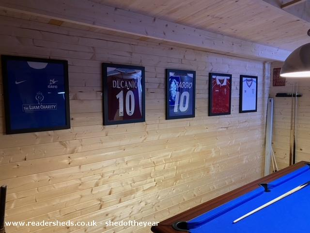 Photo of The Ludlow, entry to Shed of the year-Shirts