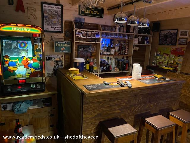 Photo of The Ludlow, entry to Shed of the year-Bar