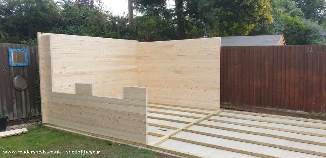 Photo of The Ludlow, entry to Shed of the year-Build