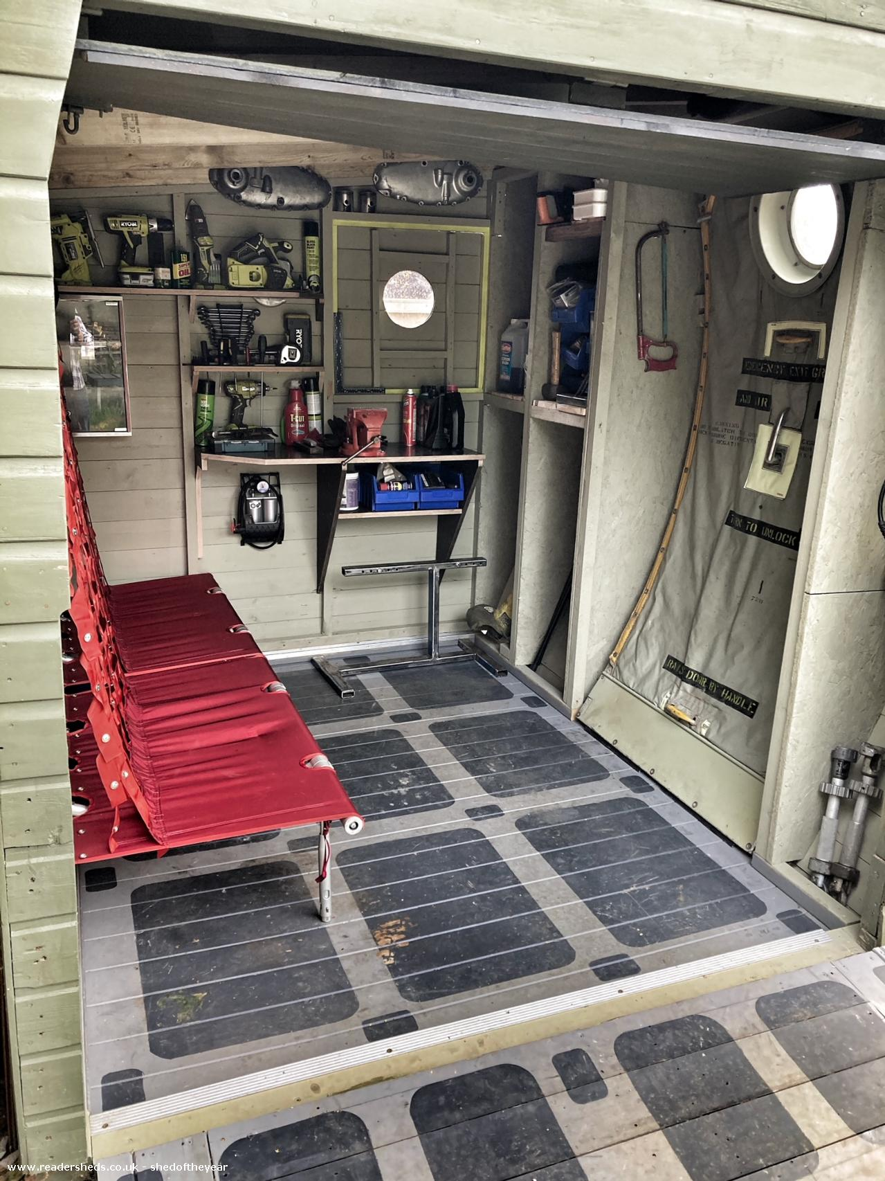 Photo of C130 Hercules , entry to Shed of the year-C130 Hercules Shed